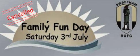 Fun Day Cancelled!