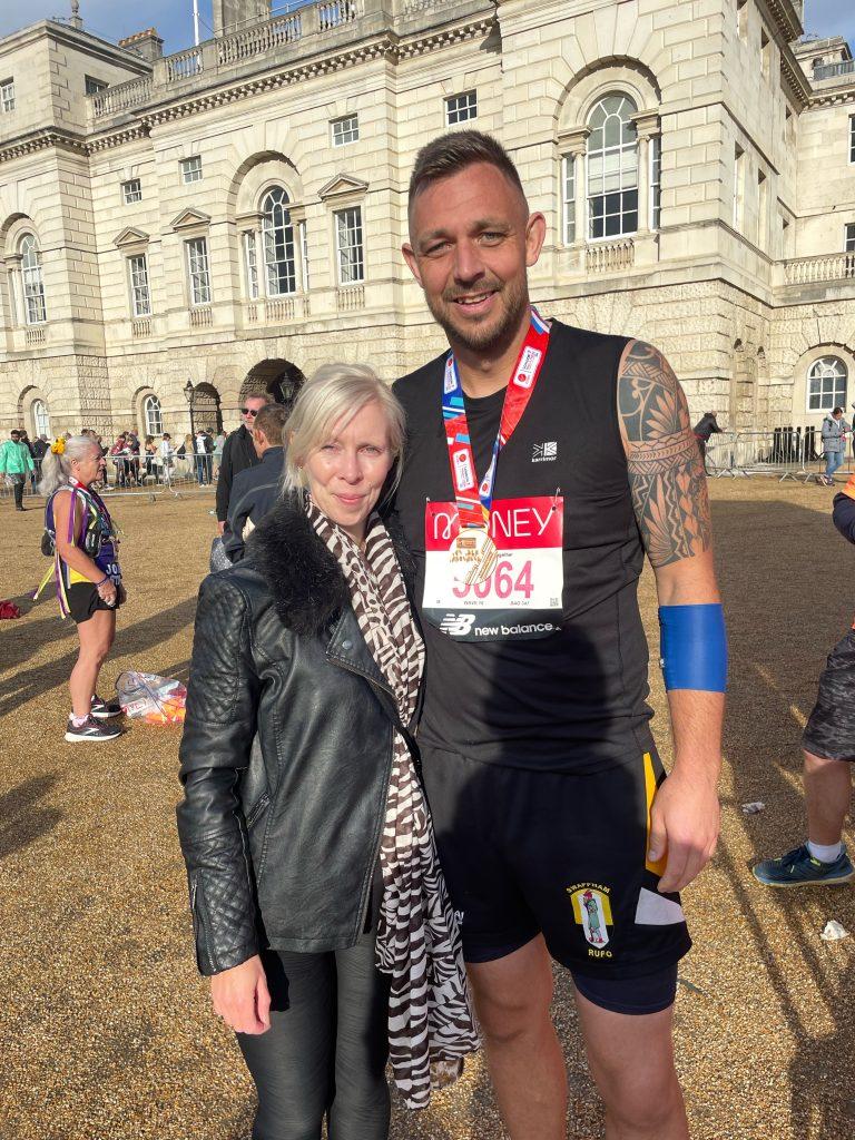 Ben succeeds in London Marathon!